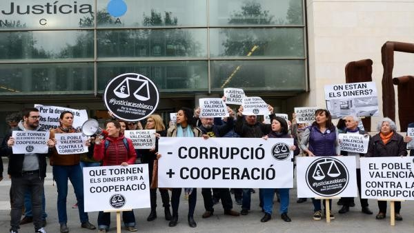 La Coordinadora Valenciana de ONGD presenta como acusacion popular las conclusiones del juicio del CASO BLASCO
