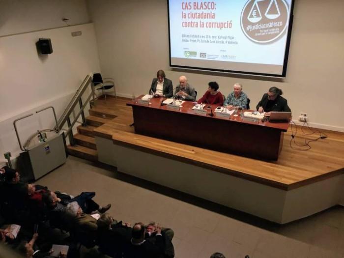Presentación de la campaña de Micromecenazgo #JUSTICIACASOBLASCO